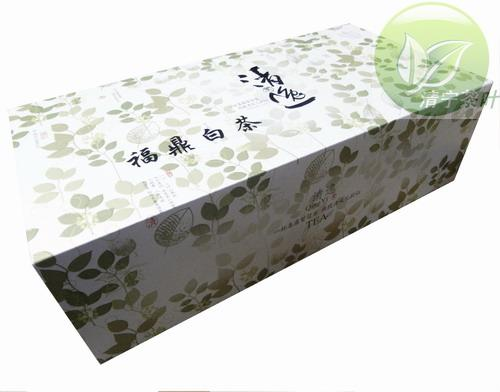 B980 fuding white tea baihao silver needle gift box Fujian taihe high mountain spring tea xixi silver front tea