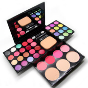 Beginners pearl cosmetic box Makeup Palette 39 color suit combination powder Eyeshadow blush children Princess stage