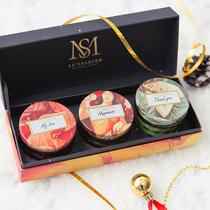 Xiang отправить новые продукты с ручной подарок день рождения свадебный подарок учитель практический подарок мед роскоши душистые свечи подарочный набор коробки.