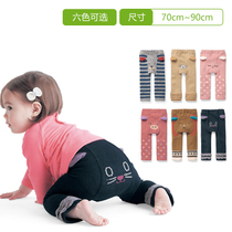 Thousands of fun BABY baby baby cartoon solid animal PP long pants for men and women climb base B96764