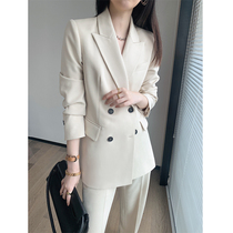 Senior feel fried street suit suit suit women 2021 spring and autumn high end British style casual temperament fashion professional suit