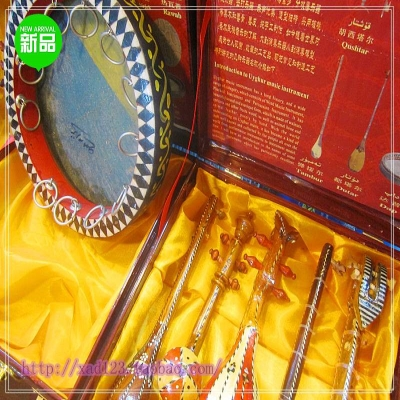 新款工艺品特色摆件新疆民族乐器六件套家居装饰少数民族旅游纪