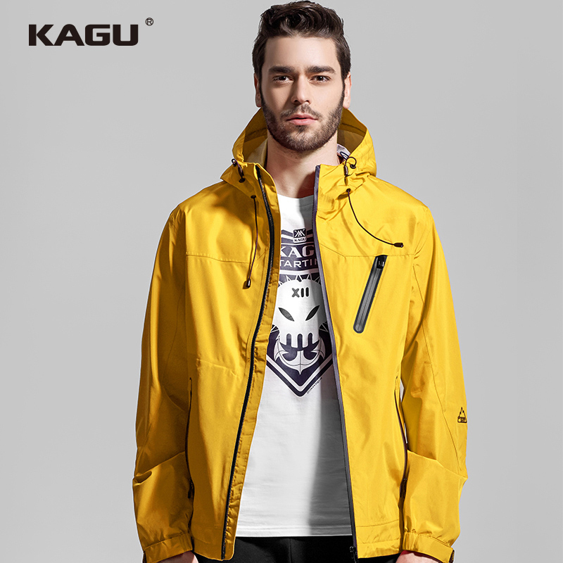 KAGU Kagu Original Thin Charge Clothes Men's Spring and Autumn Trend Jacket Wind-proof, Water-proof and Air-permeable Outdoor Mountaineering Suit