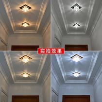 Проход свет коридор свет простой современный потолок форма проход прихожая потолок прожектор Хрустальный вход в фойе свет