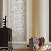 Shell mosaic background Wall Gateway bathroom European pure white secret decoration material natural pearl shellfish