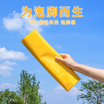 Bubble foot bag can fold bubble foot basin deep travel portable bucket wash foot outdoor travel supplies essential artifacts.