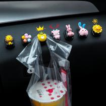 Car interior small hook car front row decoration paste female cartoon seat back car hook supplies