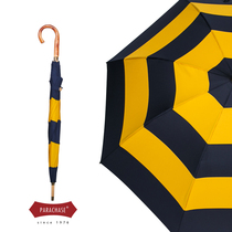 Мода жабры ротанг анти-брызг воды увеличить ветер анти-ветер ретро британский солнечный зонтик подтягивание против ливня ручной женский длинный зонтик человек