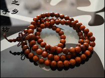 Vietnam Huanghua Pear Bracelet 0.8 diameter 108 buddha Beads Hand String Delivery collection is very good