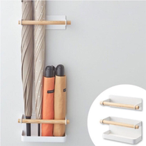 Japanese iron nail-free magnetic adsorption door after home umbrella frame creative adjustment umbrella frame refrigerator magnetic absorption rack