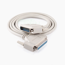 DB25 Cable 25-pin and port extension cable printer data line male to mother for hole 1.5 m