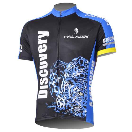 Centennial Saint Rider Men's Short Sleeve Cycling Suit Short Sleeve Top Short Sleeve Top Short Trousers Long Sleeve Top Carcass Exploration of Leopard