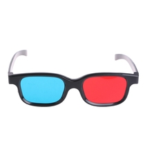 Red and blue 3D glasses Computer mobile phone storm audio and video TV movie 3D stereoscopic glasses Eyes myopia universal