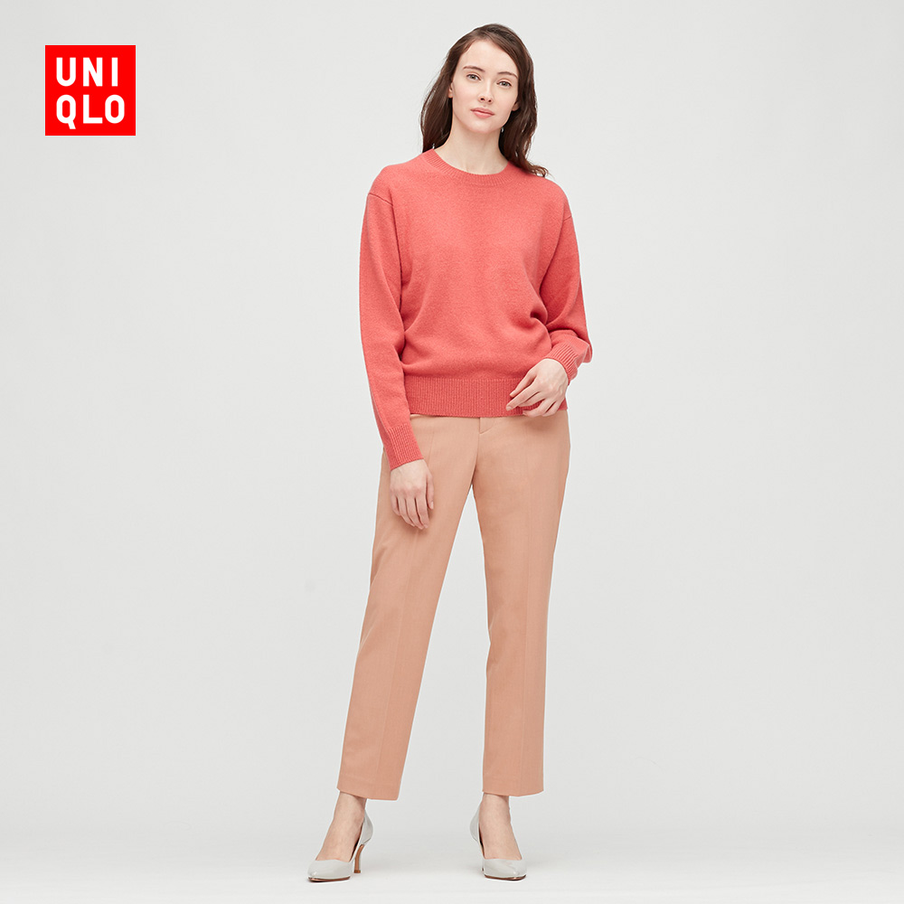 Uniqlo Womens Soft Cotton Collar Knitted Sweater (Long Sleeve) 428861 UNIQLO