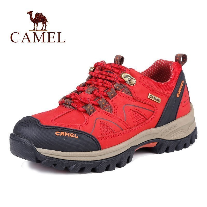 Camel outdoor shoes women's shoes 2016 autumn and winter new style leather casual shoes authentic lace leather tourism shoes