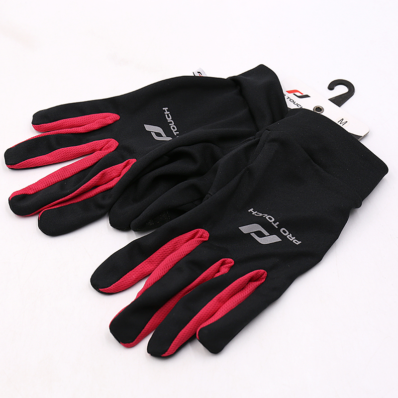 Lucky Leaf Gloves Summer Full Finger Touch Screen Mountainous Bicycle Anti-skid, Anti-fall, Air-permeable and Wear-resistant Puta
