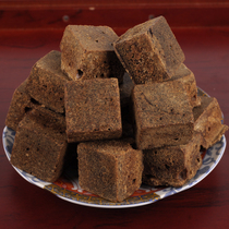 Kang black sugar 320g soil brown sugar black candy sugar block ancient method boil handmade ginger brown sugar
