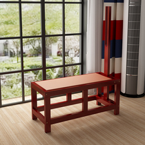 Solid wood tendon stool genuine non-folding tendon bed reinforced chair tensile Plate Fitness Chair