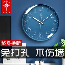 Polaris watch wall clock Living room light luxury modern simple clock wall hanging household fashion hanging watch Quartz clock hanging type
