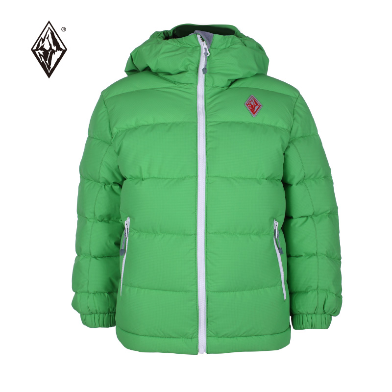 Black ice F9102 children's velvet cap waterproof down jacket boys and girls winter warm down jacket