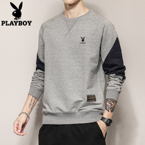 Playboy sweater men spring 2020 new round neck ins trend loose casual wild spring tops