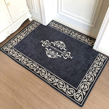 European floor mat door mat entry door household water absorption anti-skid entry door mat entrance hall bedroom carpet can be cut