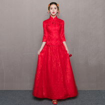 Chinese style China wind winter show wo Clothing