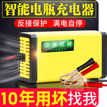 Intelligent 12v scooter battery charger Lead-acid battery automatic universal repair charger