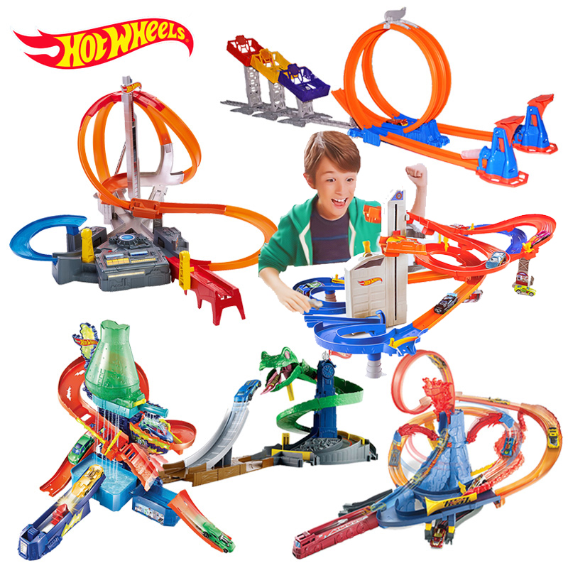 Hot Trolley Track Limit Jump Track Kit for Children