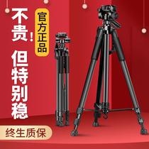 Caméra trépied SLR trépied micro trépied unique portable téléphone portable photo caméra volg professionnel en alliage daluminium etagère appropriée pour Canon Nikon Sony live support