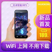 Hunker mp4wifi доступ в интернет небольшой mp5 плеер студент mp6 полный экран MP3 Walkman андроид смарт