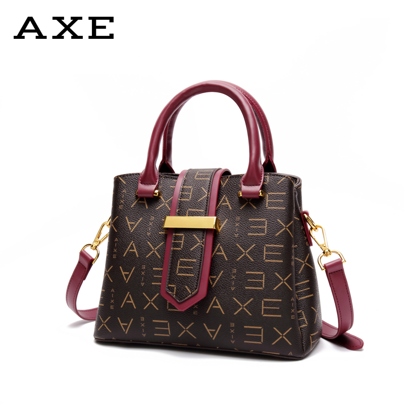 AXE small bag female 2018 autumn and winter new women's bag Europe and the United States wild atmosphere handbag fashion shoulder Messenger bag
