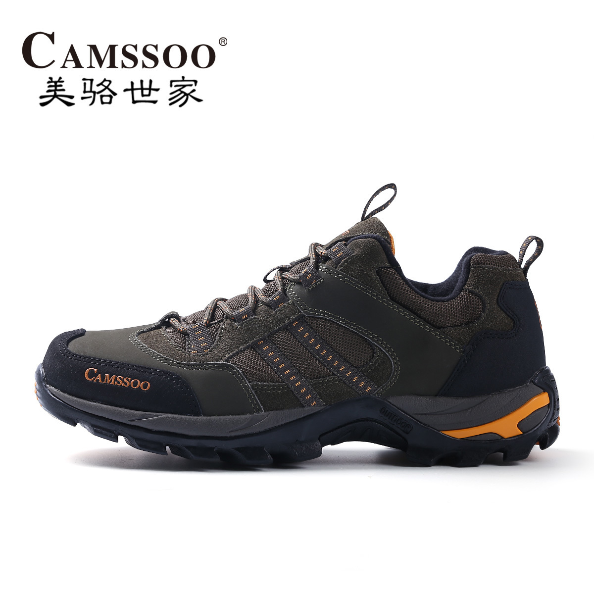 The United States Luo Shi family new outdoor climbing shoes low to help women outdoor shoes breathable casual hiking shoes non-slip wear men's shoes