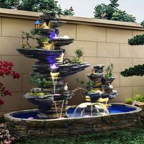 Баотан фонтан воды воды на открытом воздухе украшения сад двор большой Lucky ландшафт рыбный пруд ландшафтный дизайн