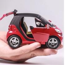 Modèle de voiture de jouet dalliage intelligent de lelf de mercedes-benz de Simulation voiture de jouet de garçon denfants de voiture de traction acousto-optique