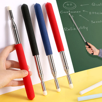 Retractable teacher-specific telescopic teaching whip blackboard with touchable screen sensitive teaching stick teaching stick teaching stick class baton electronic whiteboard blackboard dedicated guide chess桿 home teaching speech stick