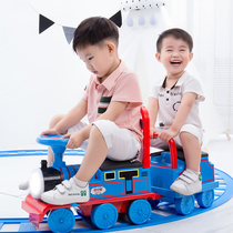 Childrens Track Stroller Car 2-3 year old boy and girl 4 toys