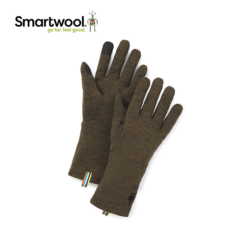 Smartwool Merino 250 series wool gloves cold warm outdoor riding solid color gloves 9001