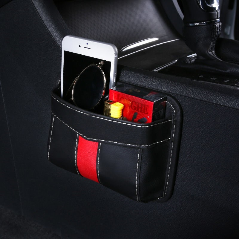 Car storage box car paste mobile phone multi-function storage bag car must-have artifacts supplies are all practical