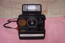 Features good use Polaroid Polaroid Polaroid SX-70 series 5000SE type one-time imaging camera old objects