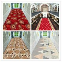 The carpet in the corridor of the non-slip hotel carpet can be customized by cutting the door hall entrance door mat European stair carpet non-slip mat hotel corridor