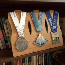 六层cd碟片架.比赛成绩小蛮腰奖牌挂架相框奖牌收藏展示马拉松越