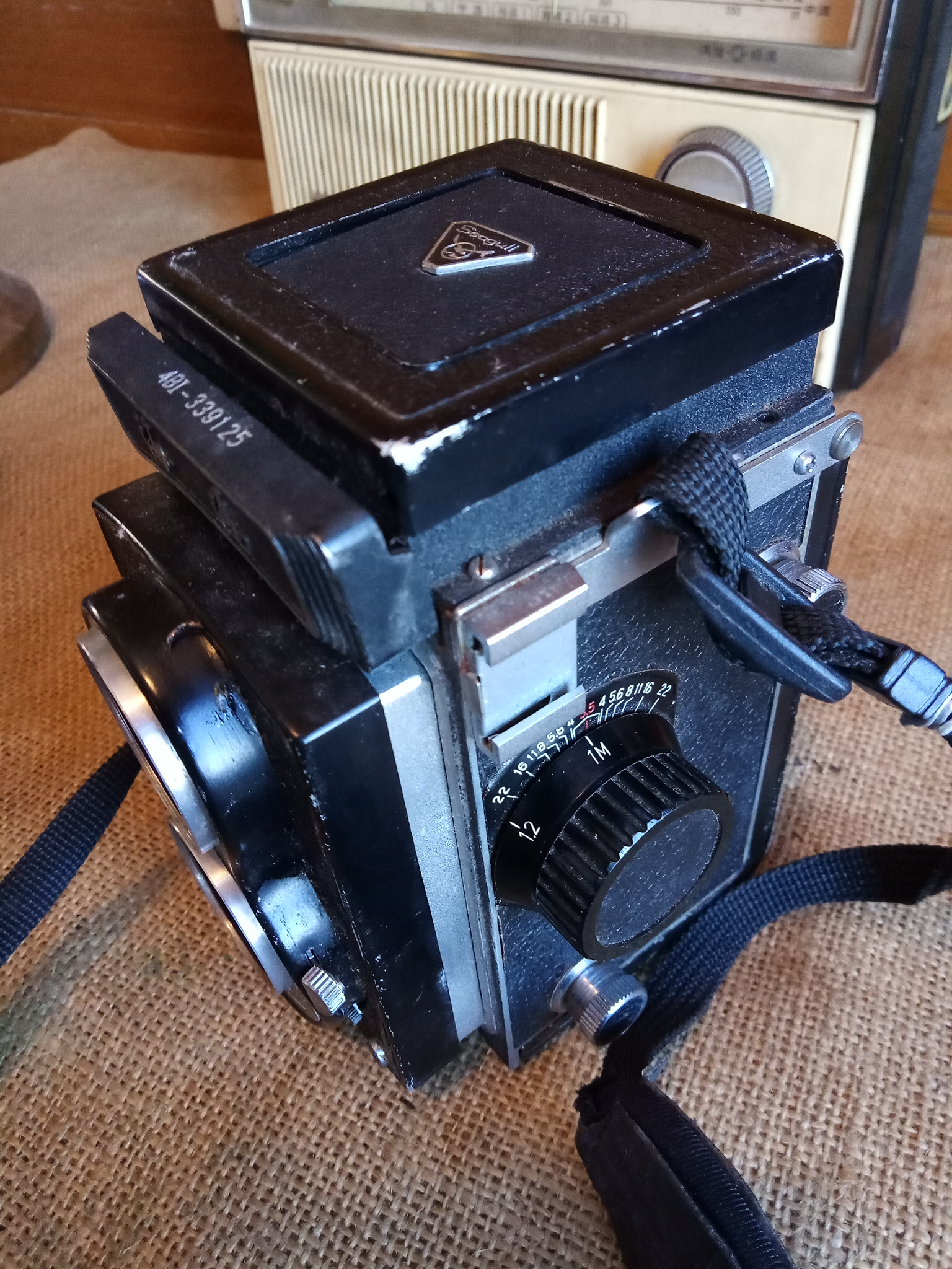 Energy Hall Seagull brand 120 camera domestic classic camera collection intact