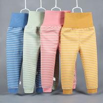 宝宝保暖裤男女儿童加绒高腰裤小孩护肚婴儿秋冬两用档裤2020新款