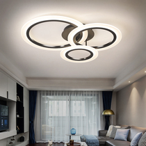 Living room lamp 2019 new minimalist modern atmospheric home led Ceiling Lamp personality round bedroom lamps
