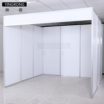 Ying Rong aluminum alloy standard booth waterproof flame retardant advanced frame profile advertising shelf vertical outdoor