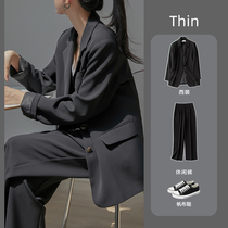 Small suit suit women Spring and Autumn Korean version of British style College students leisure fashion temperament professional dress interview suit
