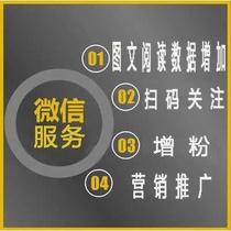 Sweep QR Code Welcome to pay attention to public service number Operation poster Service network device registration grid language
