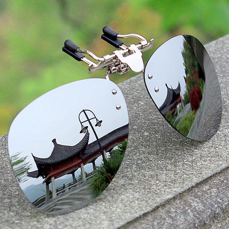 Polar glasses clip-type sunglasses male fishing driver night vision glasses driving special myopia sunglasses clip female