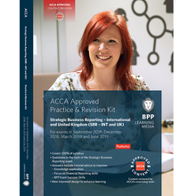 The new version of ACCA Strategic Business Reporting Practice & Revision Kit (SBR) Workbook (corresponding to P2) is applicable to the June 1999 exam.